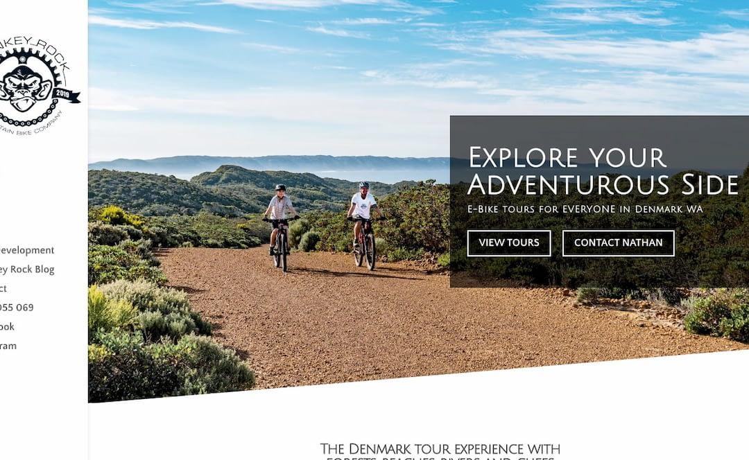 Monkey Rock home page screenshot